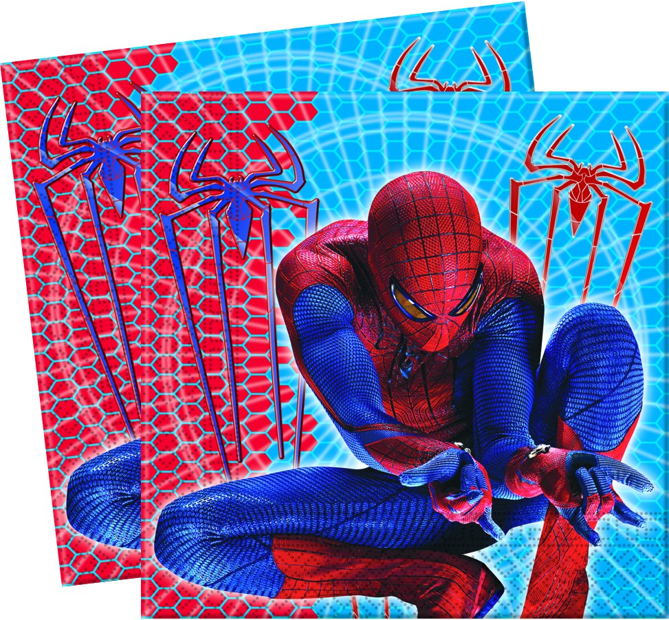 Tovaglioli di carta The Amazing Spiderman  33x33 20pz