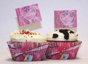 Princess 48pcs Cupcake kit