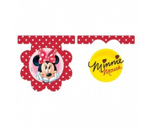 Festone in pvc Minnie 3m