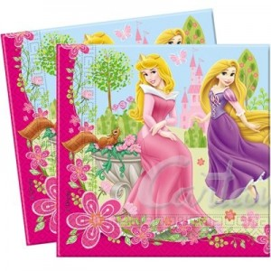 Tovaglioli di carta Princess Summer Palace 33x33 20pz