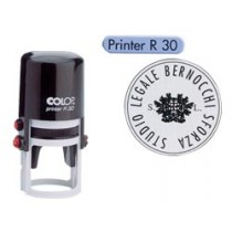 TIMBRO PRINTER R-30 Ø30MM ROTONDO AUTOINCHIOSTRANTE COLOP