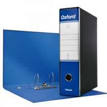 REGISTRATORE OXFORD G83 BLU DORSO 8CM F.TO COMMERCIALE