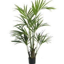PIANTA ARTIFICIALE KENTIA PALM GREEN H150cm