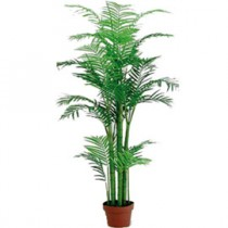 PIANTA ARTIFICIALE ARECA PALM PEARL H160cm