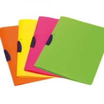 CARTELLINA CON MOLLA COLORI FLUO CLIPPER SHOCKING FILE