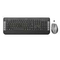 Set TECLA TASTIERA + MOUSE WIRELESS TRUST