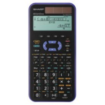 CALCOLATRICE SCIENTIFICA ELW 531XGB-VL - VIOLA